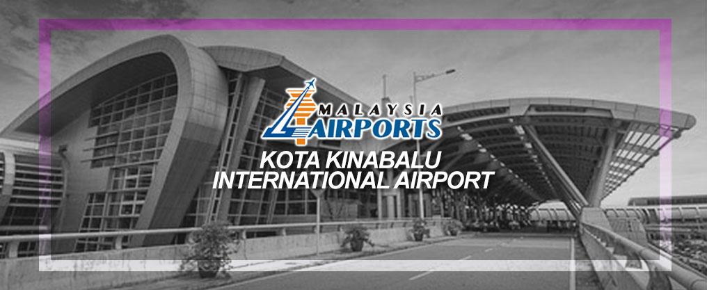 Kereta Sewa di Kota Kinabalu Internation Airport