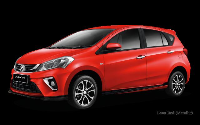 Perodua Myvi 2019